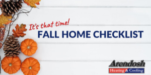 Fall Home Checklist Blog Post